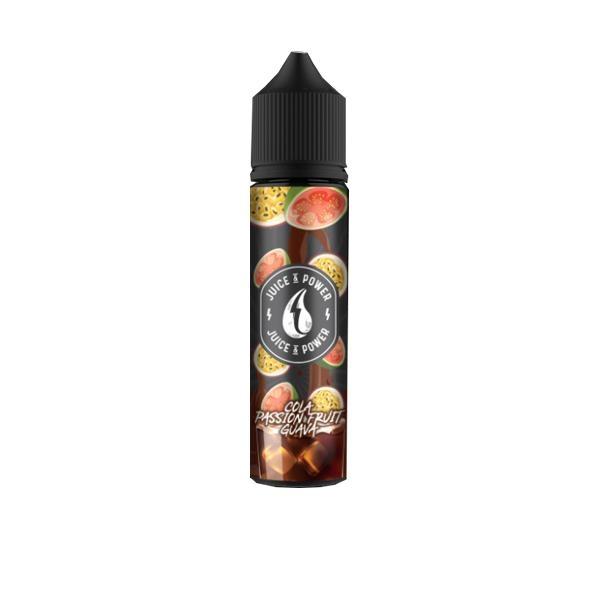 Juice N' Power Fruit Range 50ml Shortfill E-liquid, Cloud Vaping UK
