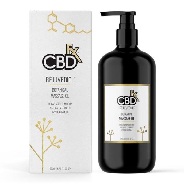 CBDfx Massage Oil (200ml), Cloud Vaping UK