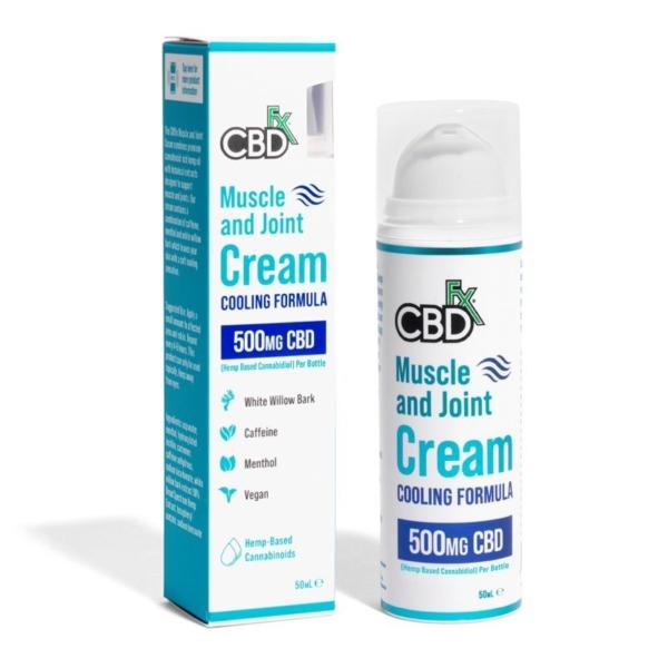 CBDfx Muscle & Joint Cream 500mg 50ml, Cloud Vaping UK
