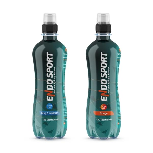 Endosport CBD Sports Drink 500ml (12 Pack), Cloud Vaping UK