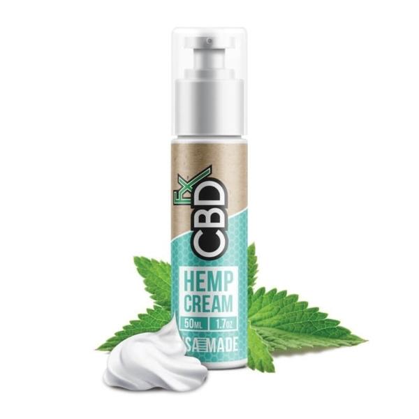 CBDfx Hemp Cream 50ml (150mg), Cloud Vaping UK